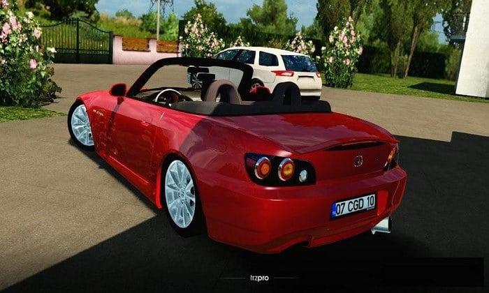 Carro Honda S2000 V2R4 Para V.1.34.X - ETS2