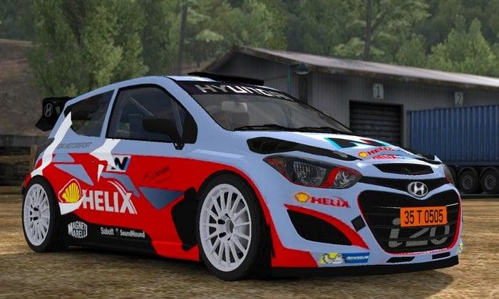 Carro Hyundai i20 WRC V1R2 Para V.1.34.X - ETS2