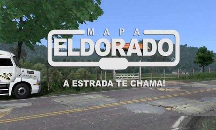 Mapa ElDorado Brasileiro Free Para V.1.34.X - ETS2