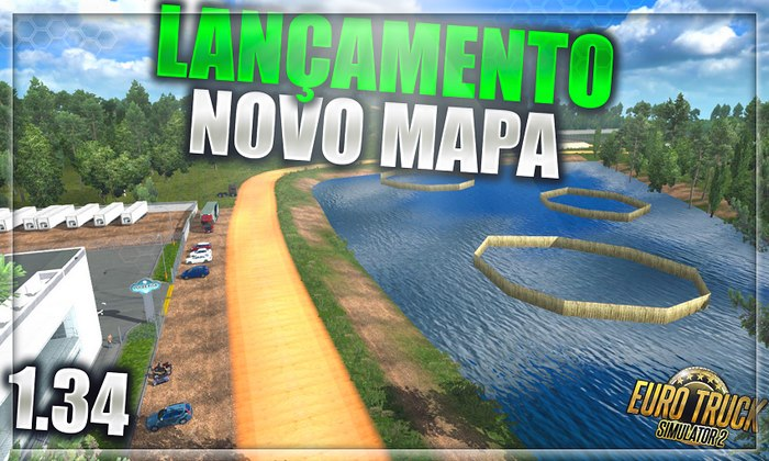 Mapa Norte Brasil 2.0 Para V.1.34.X - ETS2