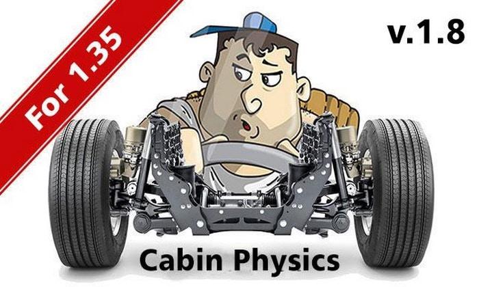 Mod Física Realistas V.1.8 Para V.1.35.X - ETS2