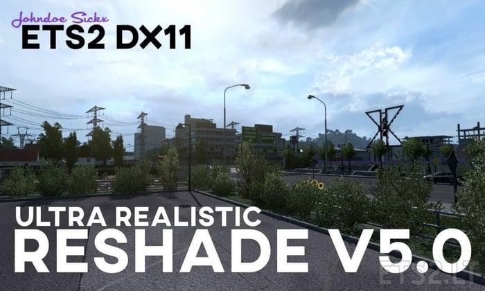 Mod Graficos Reshade V.5.0 DX11 Para V.1.35.X - ETS2