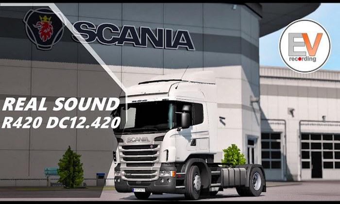 Mod Som Realista para Scania V.1.34.X - ETS2