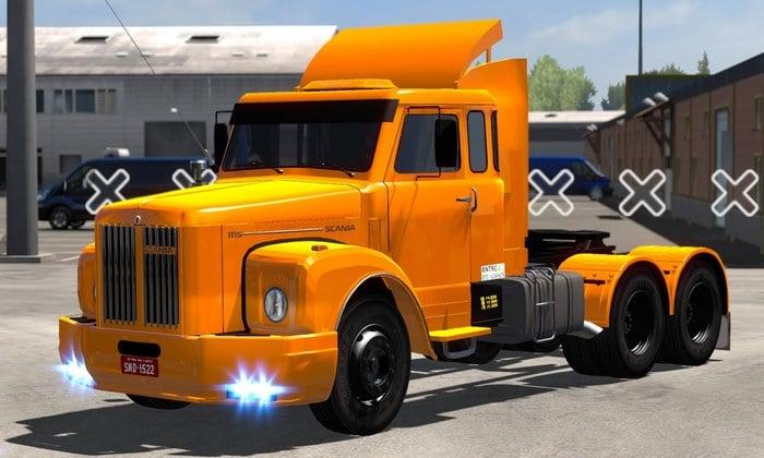 Caminhão Scania 111 Qualificada Para V.1.35.X - ETS2