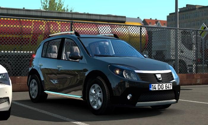 Carro Dacia Sandero Para V.1.35.X - ETS2