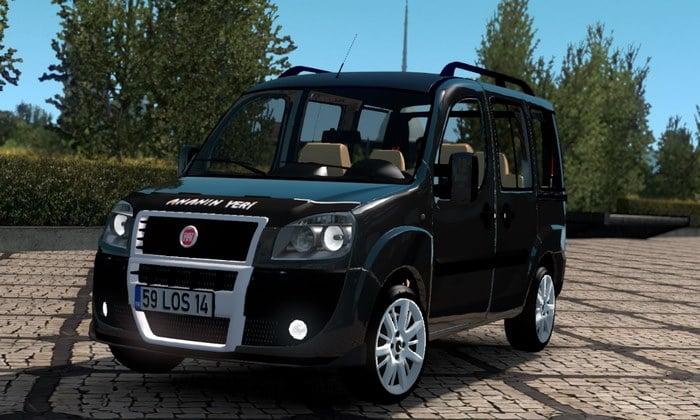 Carro Fiat Doblo D2 Para V.1.35.X - ETS2