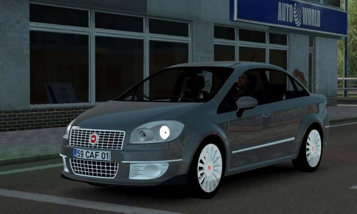 Carro Fiat Linea Para V.1.35.X - ETS2