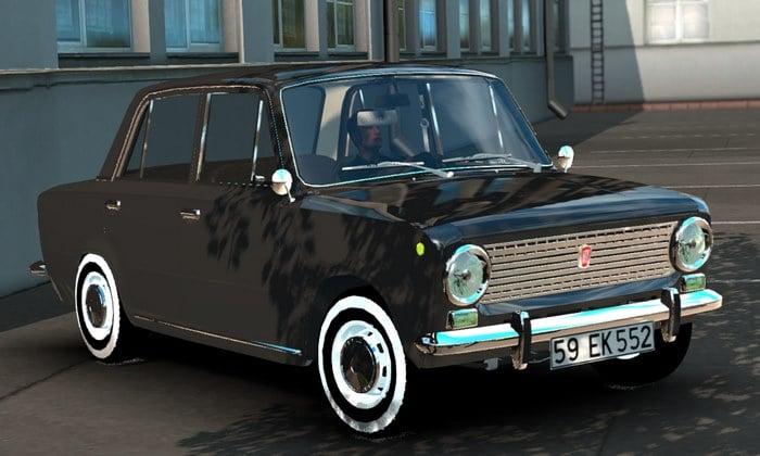 Carro Fiat Tofas 124 Para V.1.35.X - ETS2
