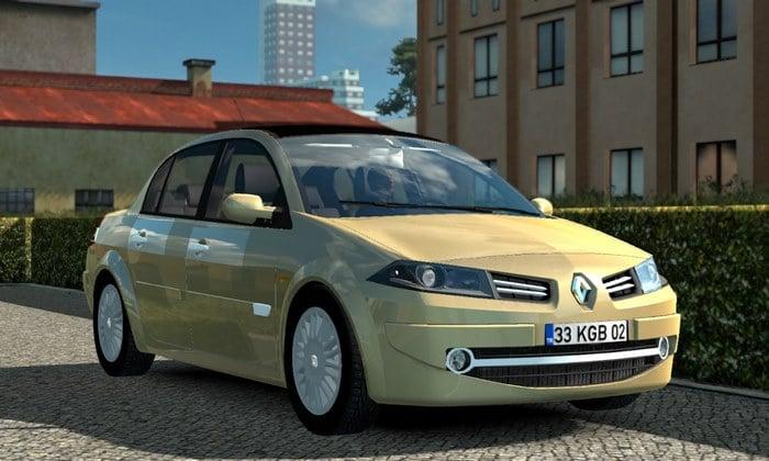Carro Renault Megane 2 Para V.1.35.X - ETS2