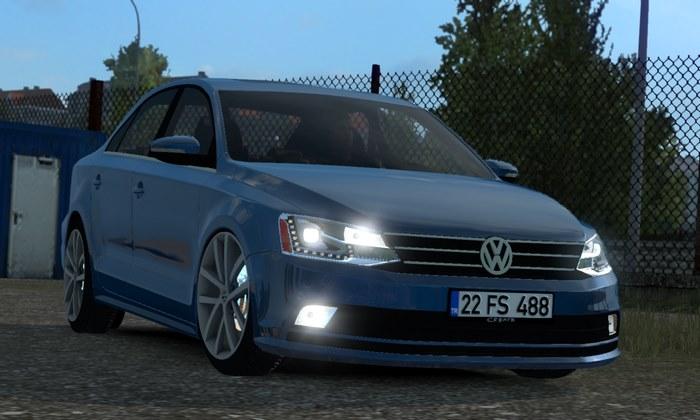 Carro Volkswagen Jetta V1R10 Para V.1.35.X - ETS2