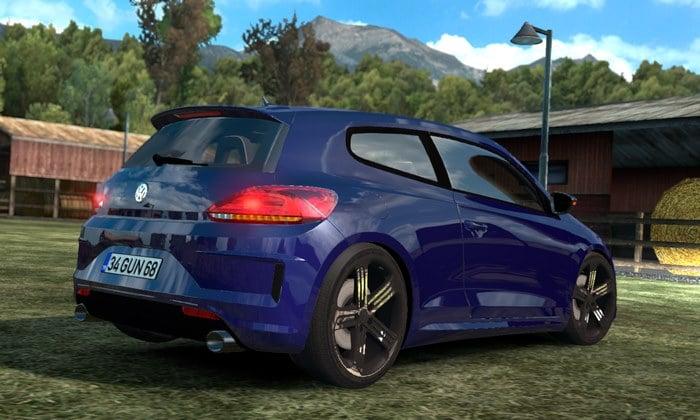 Carro Volkswagen Scirocco Para V.1.35.X - ETS2