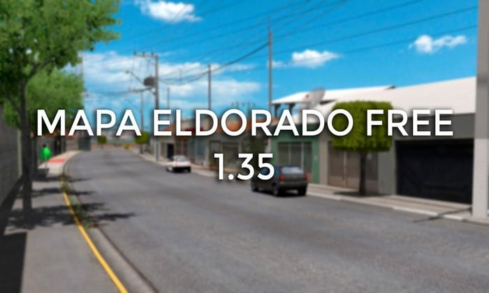 Mapa ElDorado Free V.1.7.1 Para V.1.35.X - ETS2