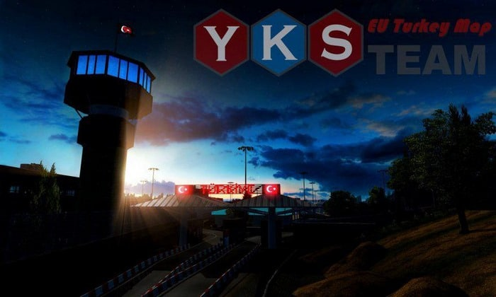 Mapa YKS Eu Turquia Para V.1.35.X - ETS2