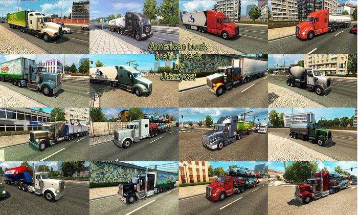 Pack de Caminhões ATS  V.1.8.1 Para V.1.35.X - ETS2