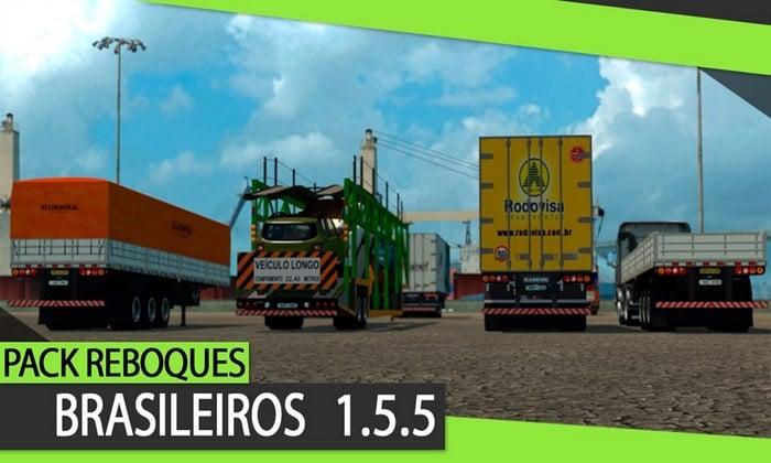 Pack de Cargas Brasileiras V.1.5.5 Para V.1.35.X - ETS2