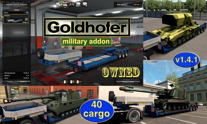 Pack de Reboques Militares V.1.4.1 Para V.1.35.X - ETS2