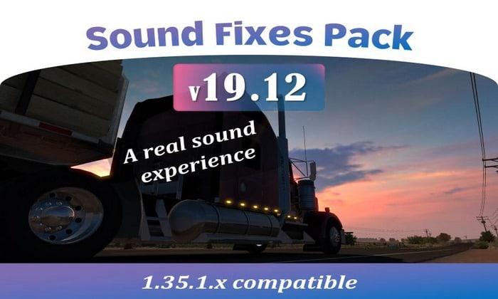 Pack de Sons Corrigidos V.19.12 Para V.1.35.X - ETS2