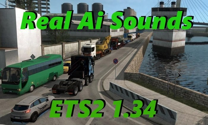 Pack de Sons Reais P o Tráfego Para V.1.35.X - ETS2