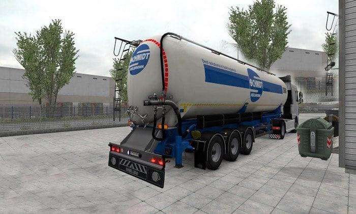 Reboque Silo Transportes Para V.1.35.X - ETS2