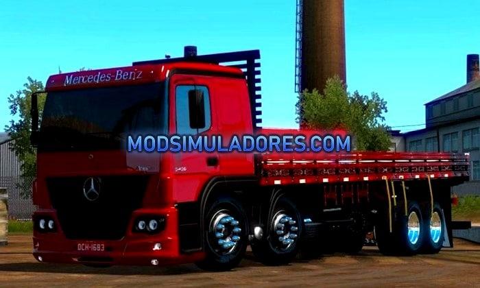 Caminhão Atego 2425 Para V.1.35.X - ETS2