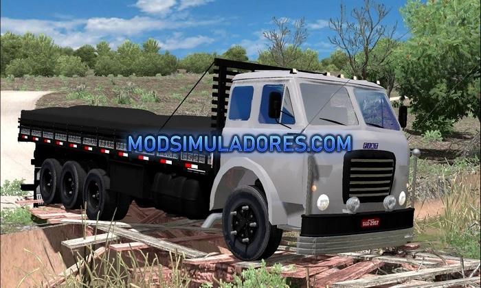 Caminhão FNM Carroceria Para V.1.35.X - ETS2