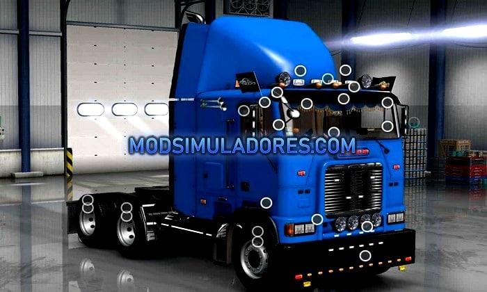 Caminhão Freightliner FLB Edit V.3.0 Para V.1.36.X - ETS2