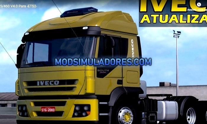 Caminhão Iveco Stralis 8x4 BR V.4.0 Para V.1.35.X - ETS2