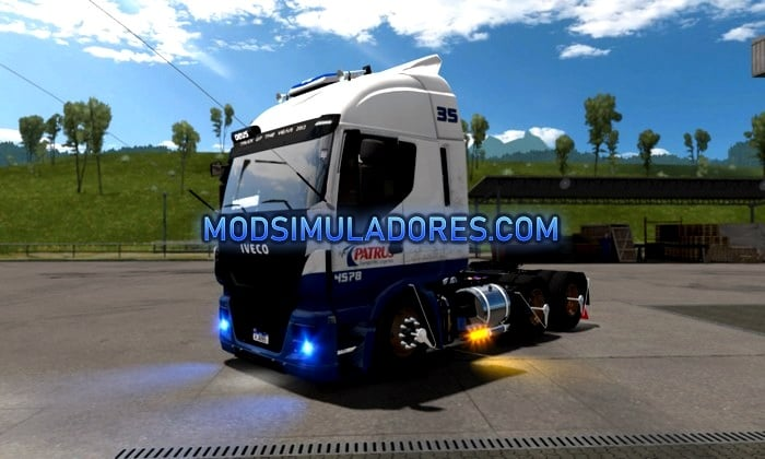 Caminhão Iveco Hiway Stralis BR Para V.1.35.X - ETS2