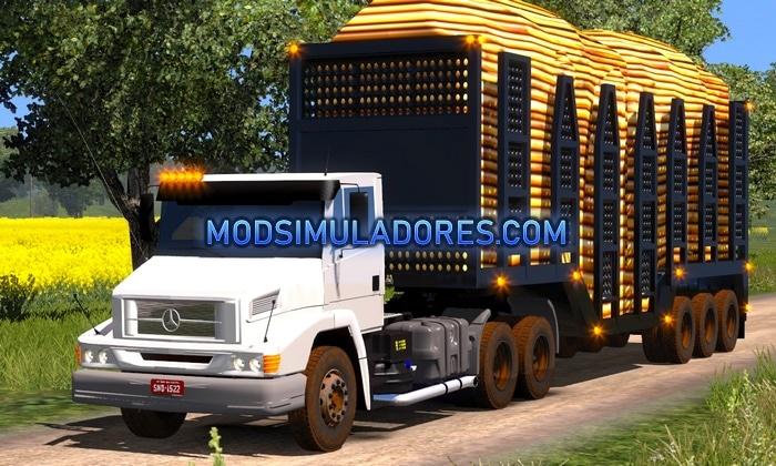 Caminhão Mercedes Benz 2638 Para V.1.35.X - ETS2