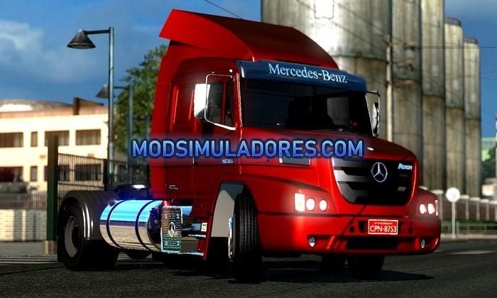 Caminhão Mercedes Benz Atron Para V.1.35.X - ETS2