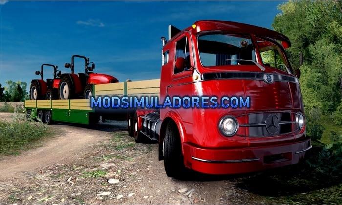 Caminhão Mercedes Benz LP 331 V.2.2 Para V.1.35.X - ETS2