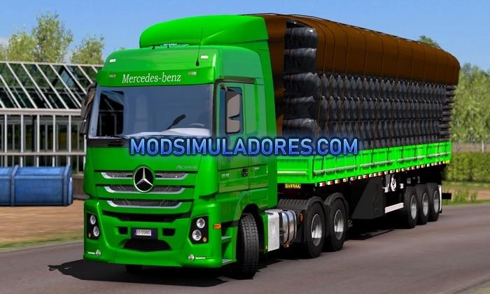 Caminhão New Actros 2651 Para V.1.35.X - ETS2