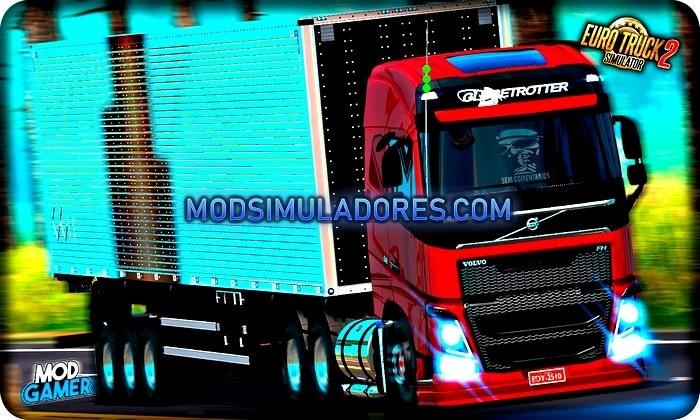 Caminhão New Volvo FH 16 BR Para V.1.35.X - ETS2