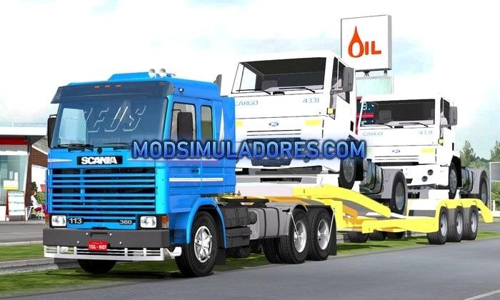 Caminhão Scania 113 Frontal Para V.1.35.X - ETS2