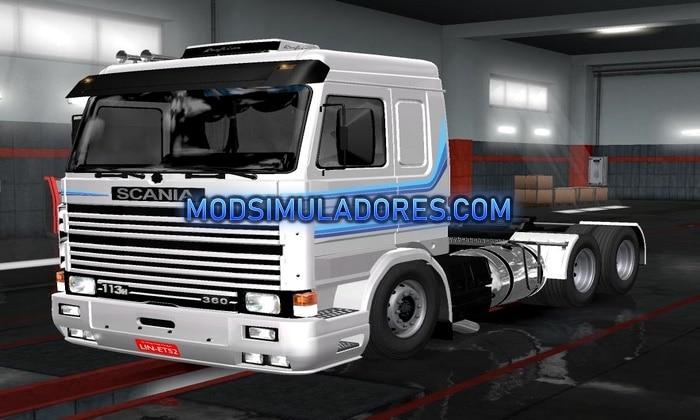 Caminhão Scania 113H Para V.1.35.X - ETS2