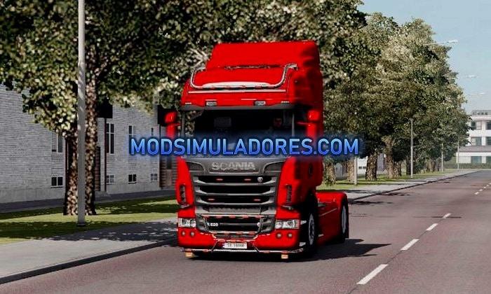 Caminhão Scania Light Para V.1.35.X - ETS2