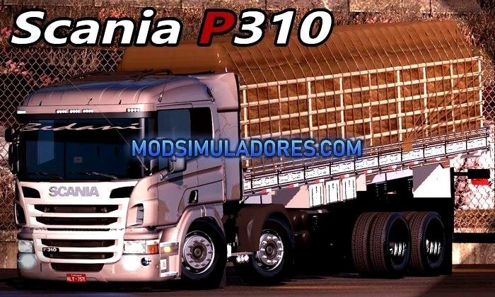 Caminhão Scania P360 BiTruck Para V.1.35.X - ETS2