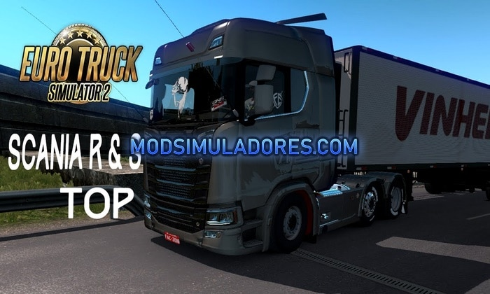 Caminhão Scania S e R BR Edition V.3.0 Para V.1.35.X - ETS2