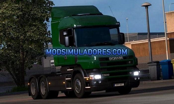 Caminhão Scania T RjL V.2.2.5 Para V.1.35.X - ETS2