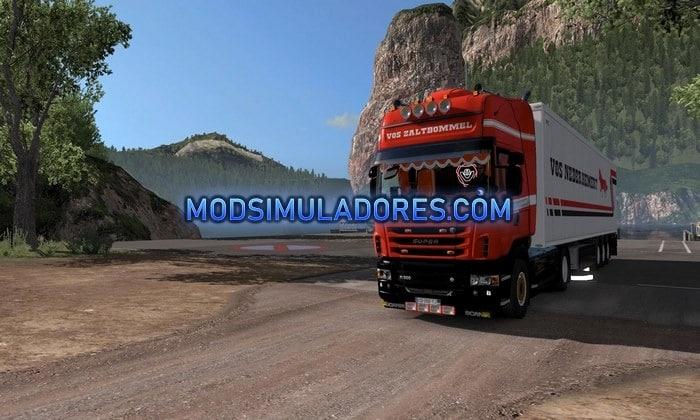 Caminhão Scania Vos Zaltbommel Para V.1.35.X - ETS2