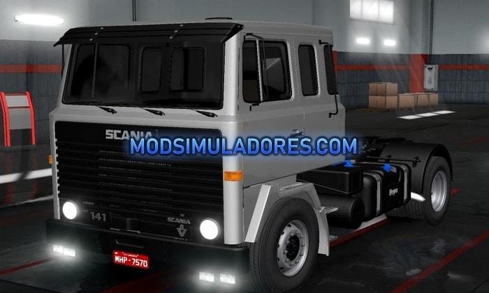 Caminhão Scanoa LK para V.1.35.X - ETS2