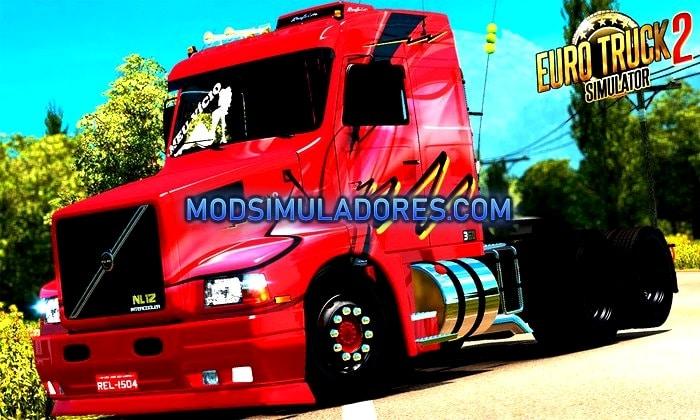 Caminhão Volvo EDC NL 12 Para V.1.35.X - ETS2