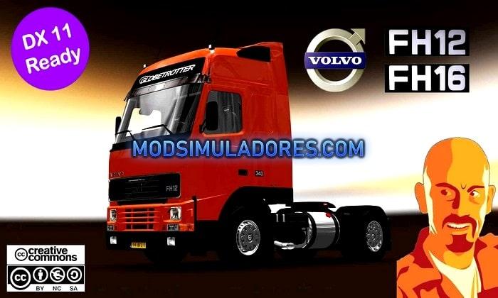 Caminhão Volvo FH12 MK1 Para V.1.35.X - ETS2