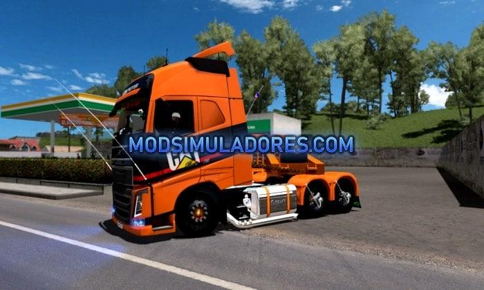 Caminhão Volvo FH16 Qualificado Para V.1.35.X - ETS2