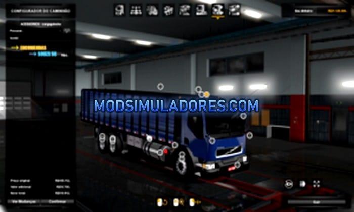 Caminhão Volvo VM 260 Para V.1.35.X - ETS2