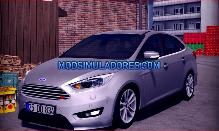 Carro Ford Focus 3 Sedan Para V.1.35.X - ETS2