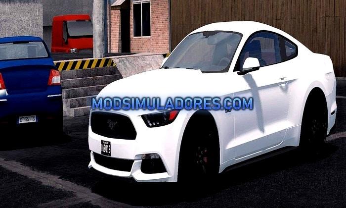 Carro Ford Mustang GT 2015 Para V.1.35.X - ETS2