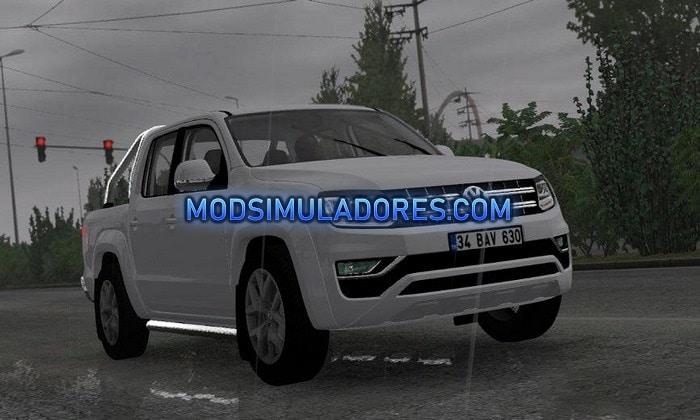 Carro Volkswagen Amarok V6 Para V.1.35.X - ETS2