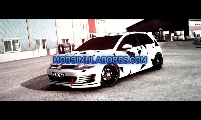 Carro Volkswagen Golf 7 GTI Para V.1.35.X - ETS2