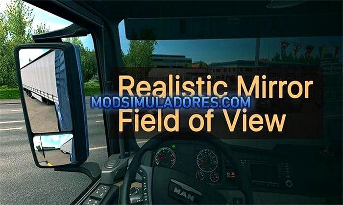 Mod Espelhos Realistas V.1.0 Para V.1.35.X - ETS2